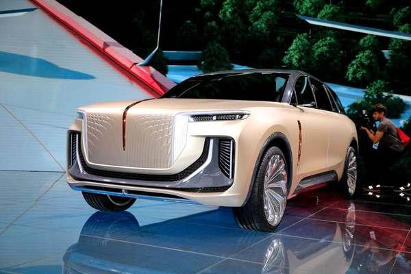 Acesta ar putea fi cel mai frumos SUV electric. Se numește Hongqi E115 și vine din China – GALERIE FOTO