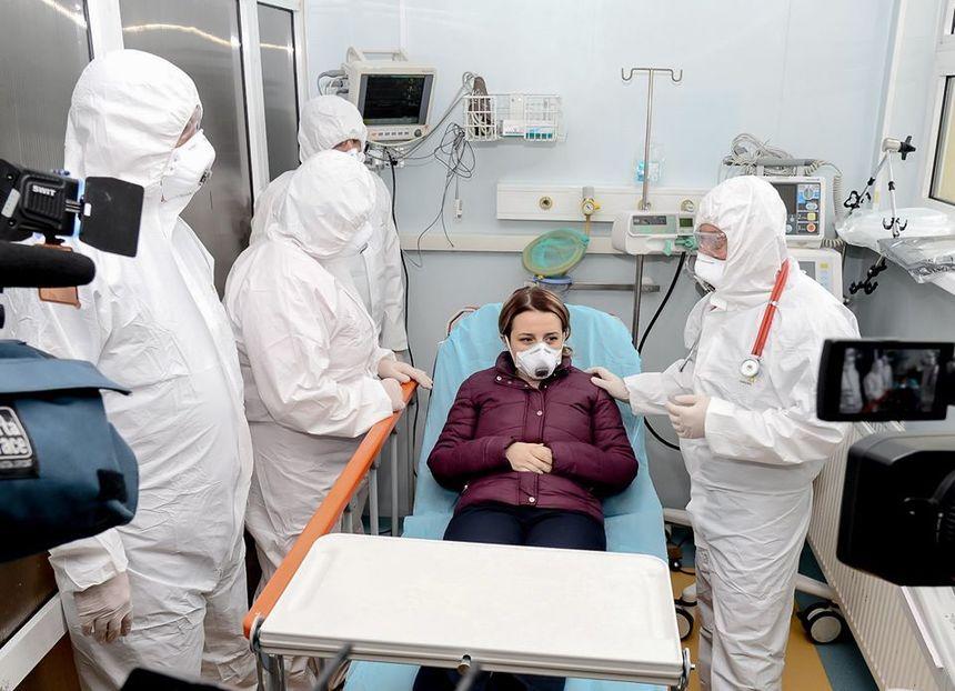 """Personal infectat cu COVID la Spitalul """"Sfantu Spiridon"""" si Spitalul Clinic """"Parhon"""" din Iasi"""