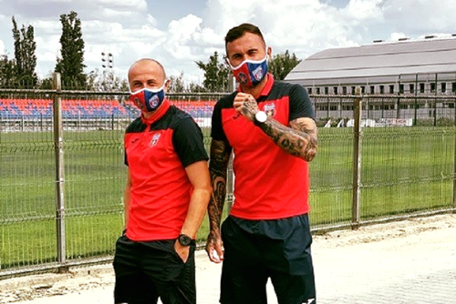 Valentin Niculae, jucător CSA Steaua testat pozitiv cu coronavirus: Sunt bine, nu am niciun simptom