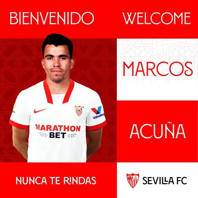 Marcos Acuna a fost transferat de la Sporting Lisabona la FC Sevilla