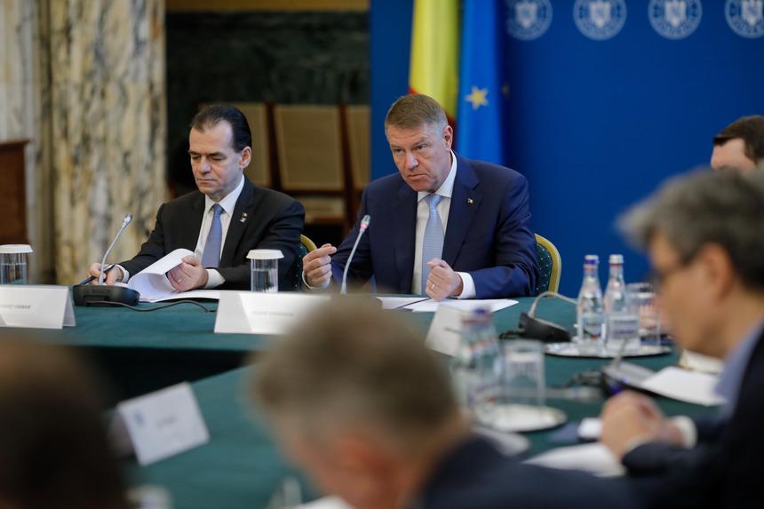 """Premierul Ludovic Orban prezintă miercuri, în prezenţa preşedintelui Klaus Iohannis, """"Reclădim România - Planul naţional de investiţii şi de relansare economică"""""""
