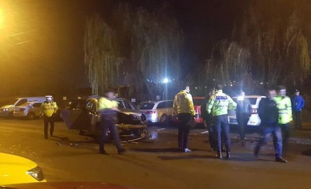 VIDEO. Accident grav în Dacia. Un şofer beat a făcut praf două mașini