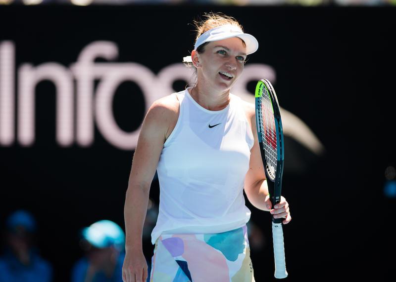 WTA Dubai: Simona Halep, eliminată în turul întâi al probei de dublu