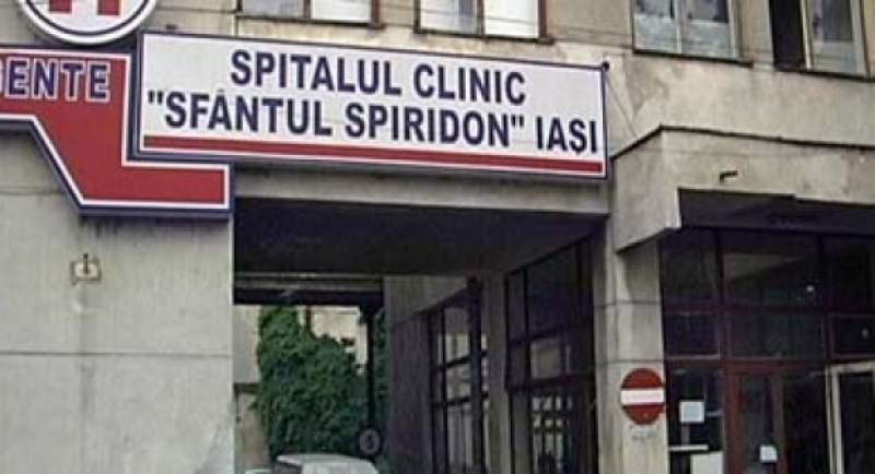 9 medici din Sectia de Ortopedie a Spitalului Sf Spiridon au COVID-19