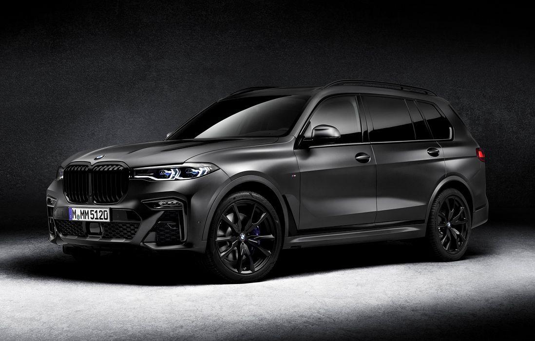 BMW X7 Dark Shadow Edition este mașina pe care doar 500 de clienți din întreaga lume vor putea pune mâna. Ediția specială poate fi comandată și în România, începând de luna viitoare.