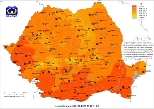 UPDATE Vremea va fi călduroasă în Bucureşti, în special duminică şi luni, când după-amiaza va fi disconfort termic accentuat / La munte, în regiunile vestice şi nordice vor fi vijelii, ploi torenţiale şi grindină