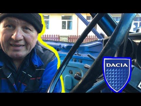 Cum arată Dacia 1300 cu evacuare sport și buton de pornire? Nea Costică a muncit 3 ani la ea