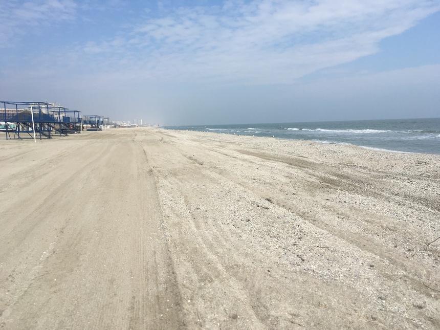 Costel Alexe, despre proiectul de reabilitare a plajelor: Plaja va fi extinsă în larg cu până la 100 de metri/ Vom creşte suprafaţa plajelor cu peste 200 de hectare