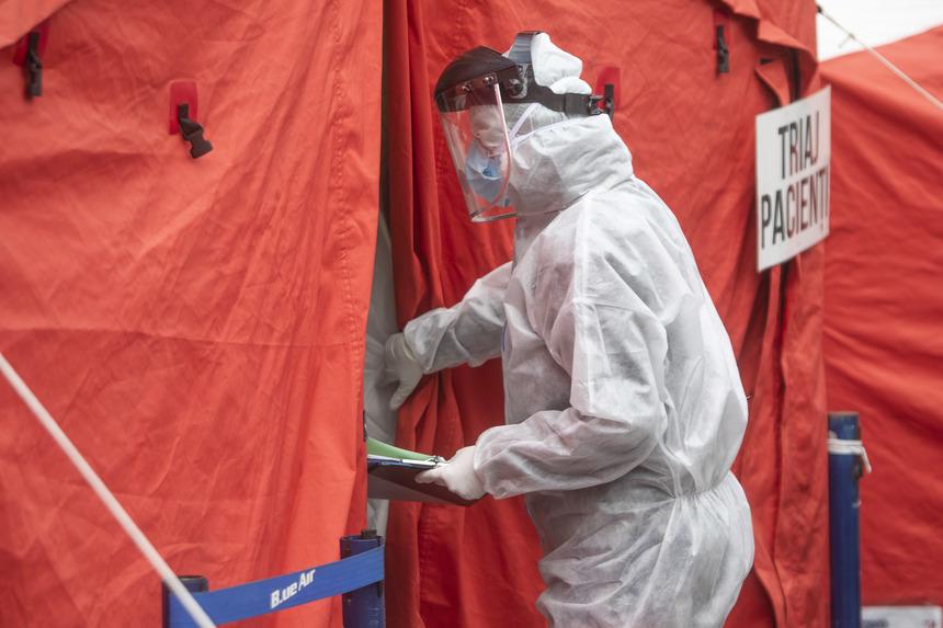 UPDATE - Grupul de Comunicare Strategică: Peste 5.000 de cazuri de infectare cu noul coronavirus, în ultimele 24 de ore / 175 de decese / Numărul pacienţilor de la ATI a crescut din nou