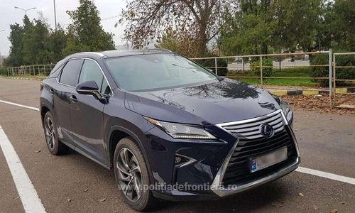 Autoturism marca Lexus furat, căutat de autorităţile din Italia şi Elveţia, descoperit la Vama Albiţa
