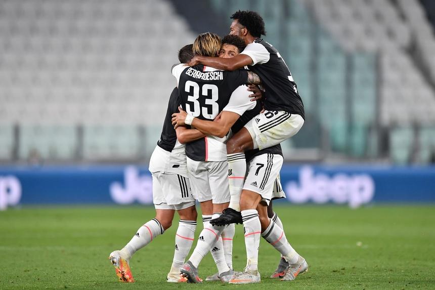 Juventus Torino a câştigat pentru a noua oară consecutiv titlul în Italia