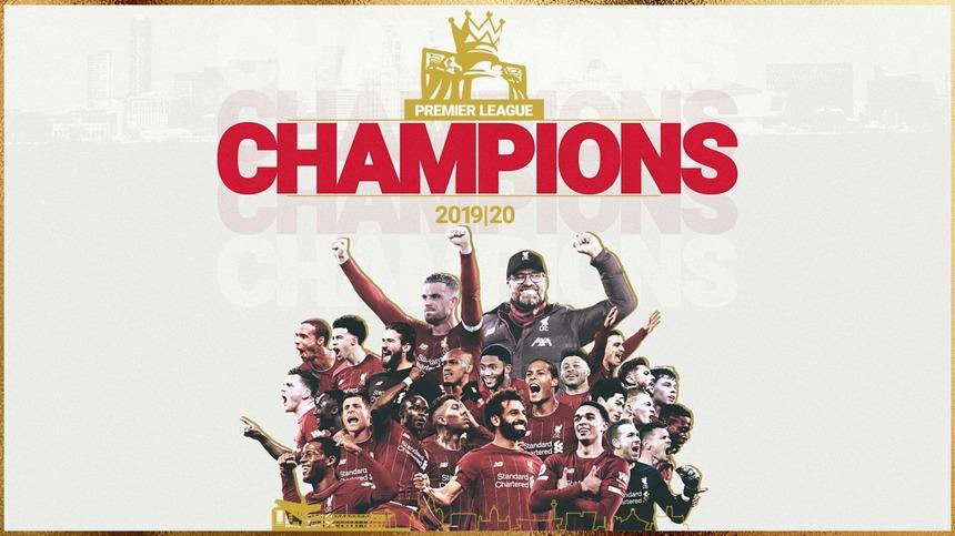 Liverpool a câştigat pentru a 19-a oară campionatul Angliei. Este primul său titlu după 30 de ani