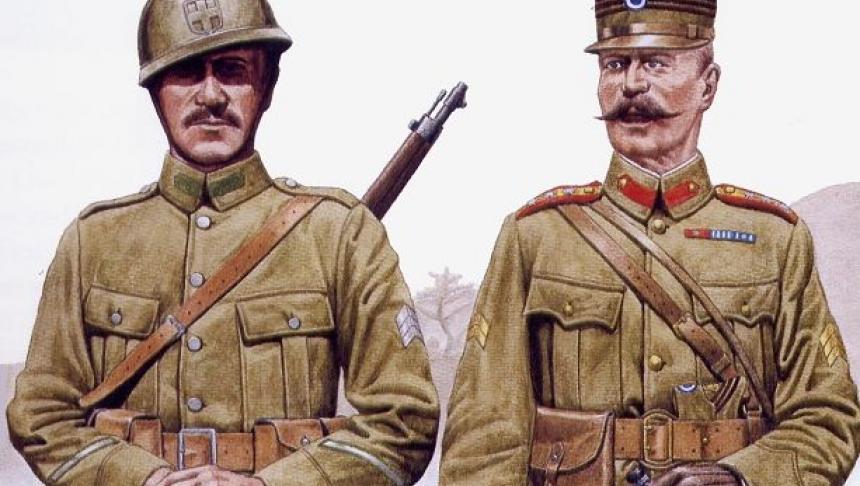 """Poezia răvăşitoare găsită în raniţa unui soldat mort în 1918 """"Nu plânge, Maică Românie! E rândul nostru să luptăm"""""""