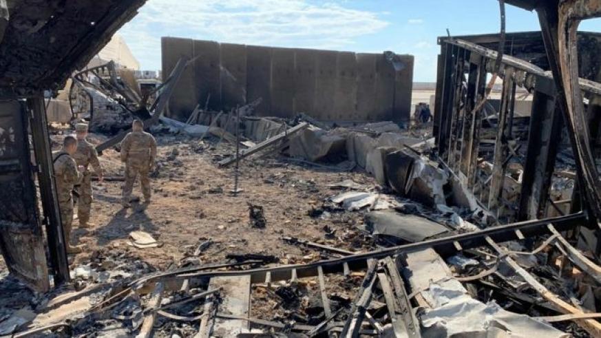 Atacul Iranului asupra bazelor militare din Irak a lăsat  peste 100 de soldați americani răniți
