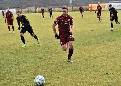 CFR Cluj a remizat cu Gaz Metan Mediaş, scor 1-1, într-un meci amical