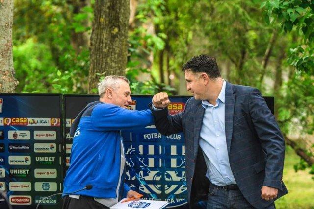 Mircea Rednic e gata să semneze prelungirea contractului
