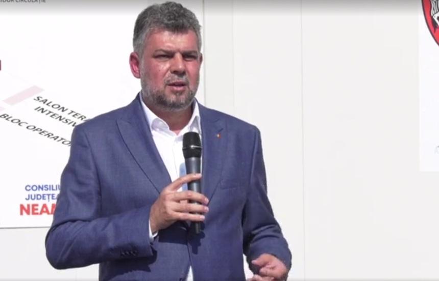 Marcel Ciolacu: La 4.000 de cazuri pe zi sunt excluse alegerile parlamentare