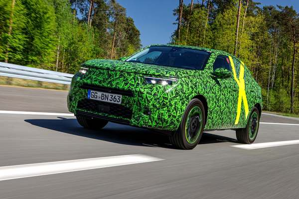 Opel Mokka se află în faza finală de testare
