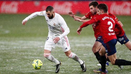 Real Madrid a remizat în deplasare cu Osasuna, scor 0-0, în LaLiga
