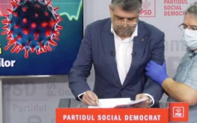 Marcel Ciolacu a leşinat în timpul conferinţei în care prezenta programul PSD de relansare a economiei
