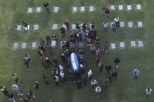 Maradona a fost înmormântat