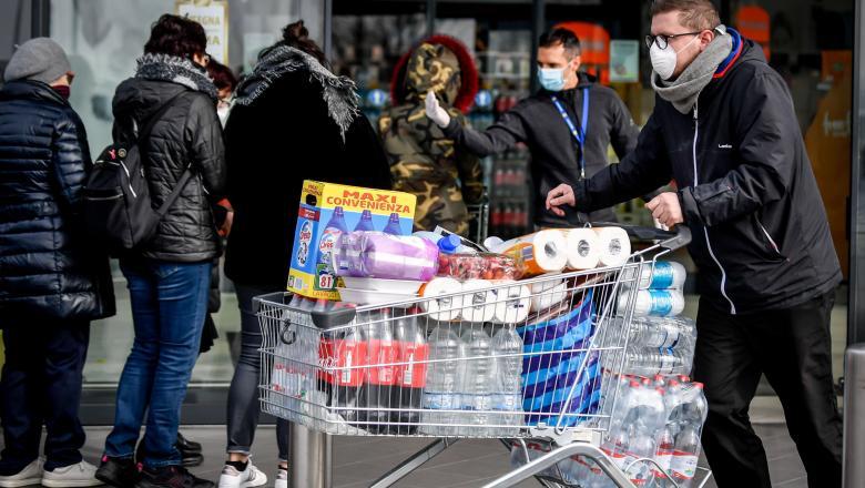 Coronavirus: Italia, cea mai afectată țară din Europa și a patra la nivel mondial. Cum funcționează carantina?