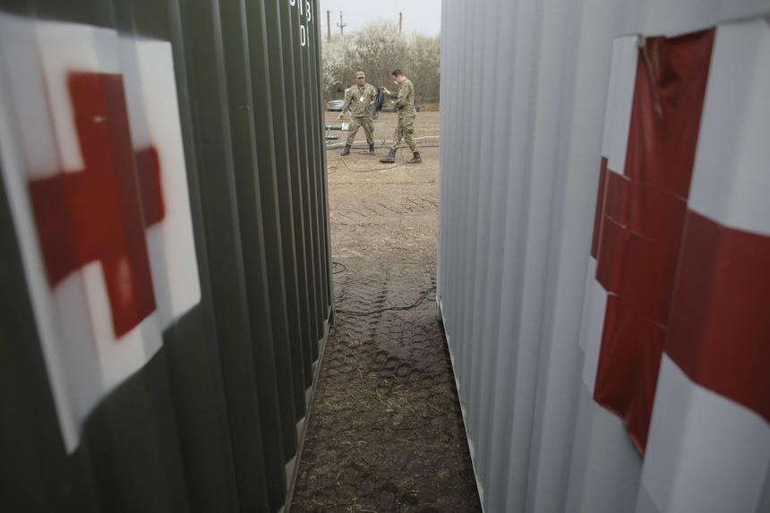 Un spital militar de campanie va fi montat pe Stadionul CFR din Timişoara, pentru tratarea cazurilor uşoare şi medii de infectare cu COVID-19