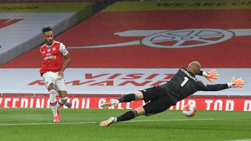 Arsenal a remizat cu Leicester în Premier League, scor 1-1