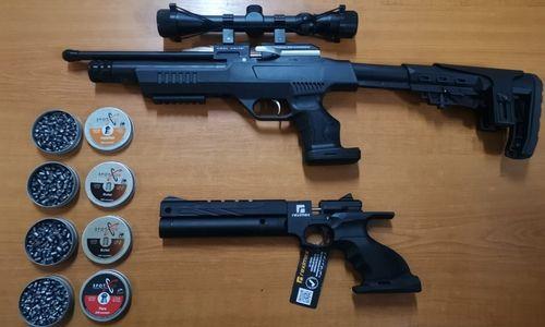 Constanţa: Două arme cu aer comprimat şi 800 de proiectile din metal, găsite de poliţiştii de frontieră asupra unui bărbat care intra în ţară