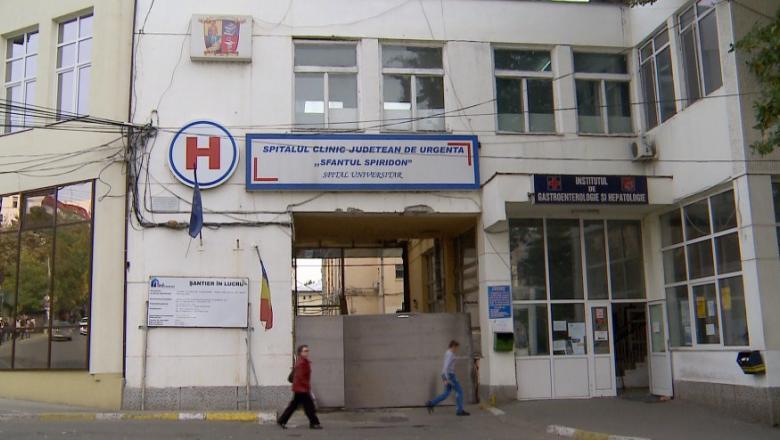 Spital de urgenta sau Spital COVID? Aproape 1000 de pacienti au fost diagnosticati COVID au fost  tratati la Spitalul Sf Spiridon