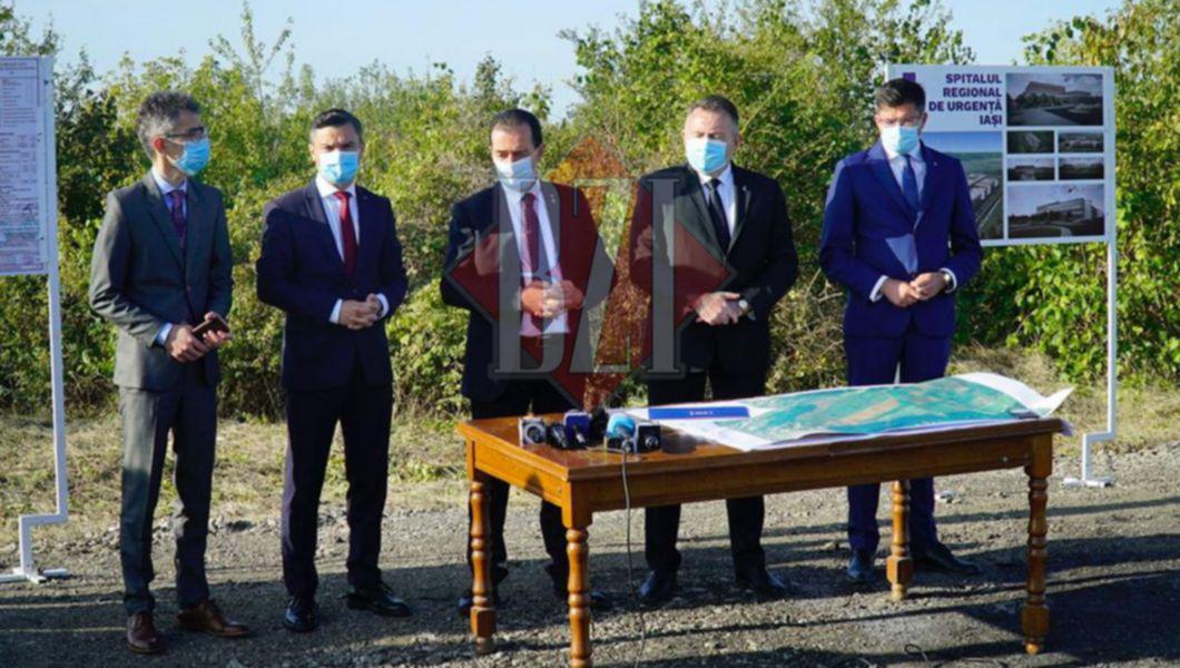 De ţinut minte promisiunile premierului Orban la Iasi: două autostrăzi şi spital de urgenţă