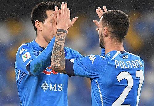 Napoli a învins Spezia, scor 4-2, şi este în semifinalele Cupei Italiei