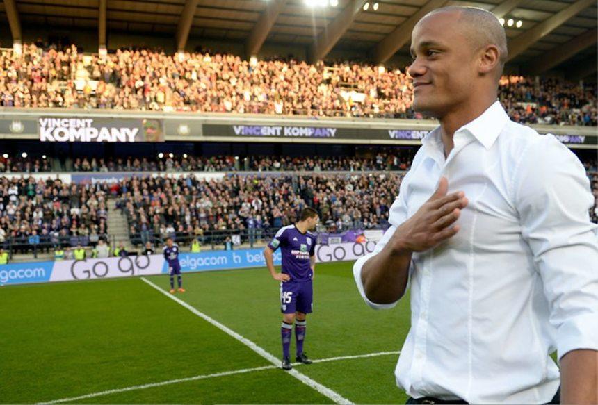 Vincent Kompany s-a retras din activitatea de fotbalist şi a devenit antrenorul echipei Anderlecht