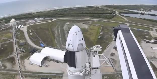 NASA şi SpaceX încearcă din nou să lanseze racheta Falcon şi capsula Crew Dragon spre Staţia Spaţială Internaţională - VIDEO
