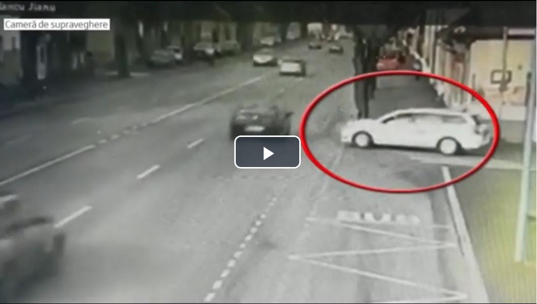 Cum s-a produs accidentul din Brașov. Un bărbat a murit, iar o tânără are fractură de coloană