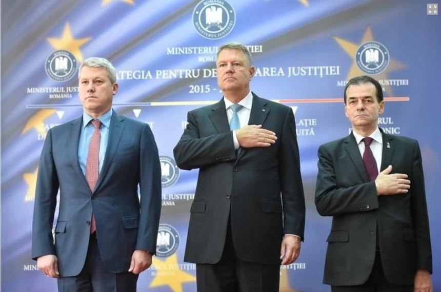 Klaus Iohannis se întâlneşte miercuri la Cotroceni cu ministrul Justiţiei şi premierul Ludovic Orban. Cătălin Predoiu va anunţa ulterior modificările propuse la Legile Justiţiei