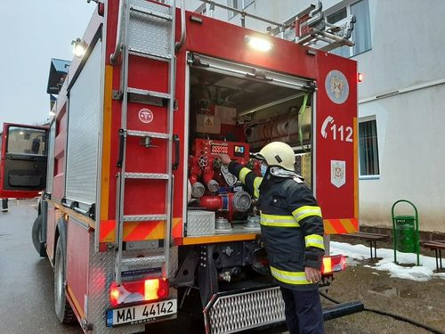 UPDATE - Incendiu la Spitalul de Psihiatrie din Cavnic - 71 de persoane au fost evacuate. Precizările Ministerului Sănătăţii
