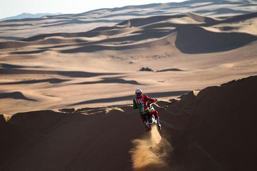 Motociclistul Pierre Cherpin a murit după ce duminică a suferit o căzătură la Raliul Dakar