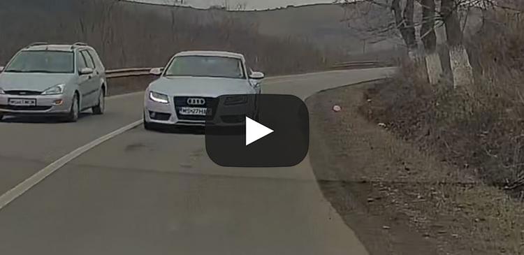 VIDEO - Inconștiență maximă pe drumul Cluj - Mureș. Așa sunt omorâți oamenii nevinovați