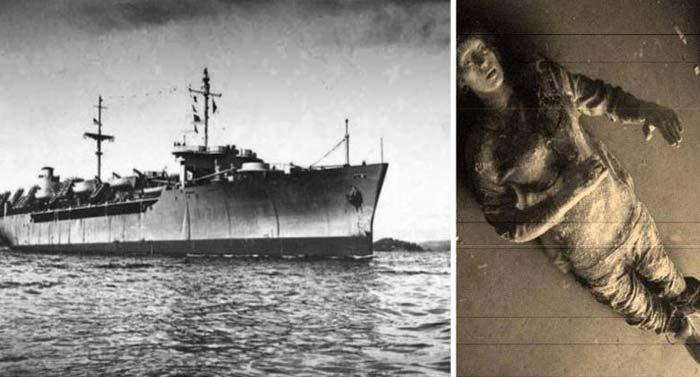 Vasul fantomă SS Ourang Medan. Echipajul găsit mort, cu ochii deschişi