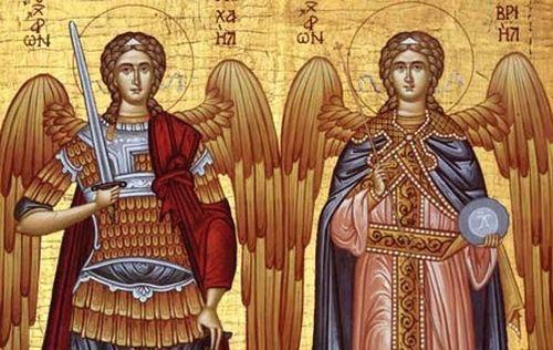 Creştinii îi sărbătoresc duminică pe Sfinţii Arhangheli Mihail şi Gavril