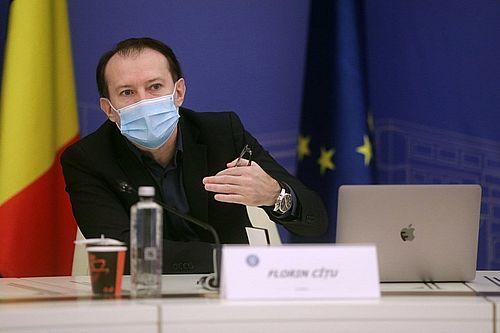 Premierul Florin Cîţu a cerut Corpului de Control al Prim-Minstrului să investigheze situaţia de la Apele Române
