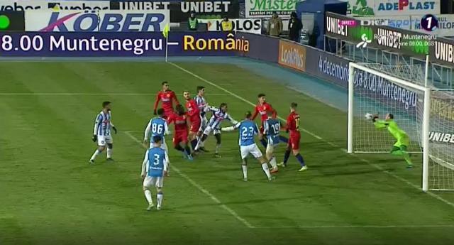 Poli Iași vs FCSB 1-2. Man a adus victoria oaspeților în prelungiri