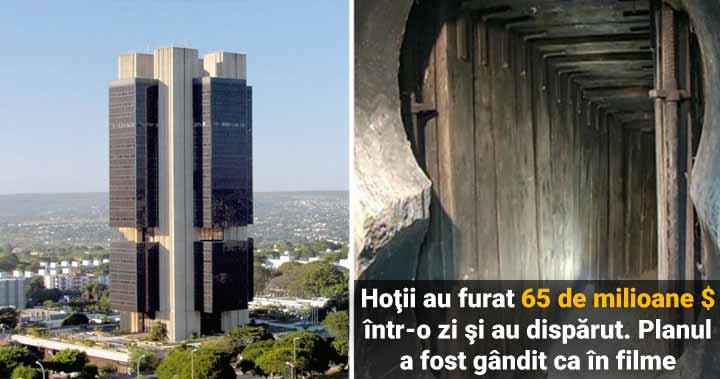 Jaful de la Banca Centrală din Brazilia. 65 de milioane $ într-o zi