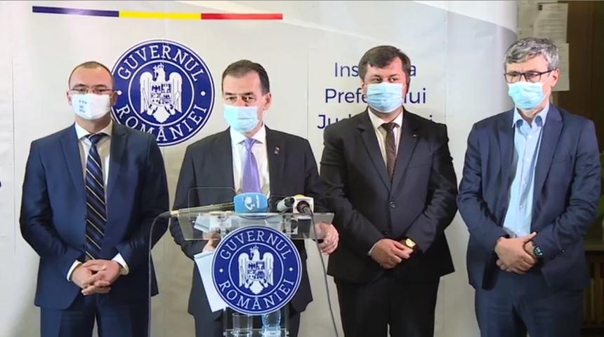 Ludovic Orban: Îmbolnăvirea elevilor nu se produce în şcoală