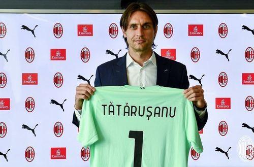 Tătăruşanu a greşit la primul meci jucat la AC Milan, iar formaţia lui a remizat, scor 3-3, cu AS Roma