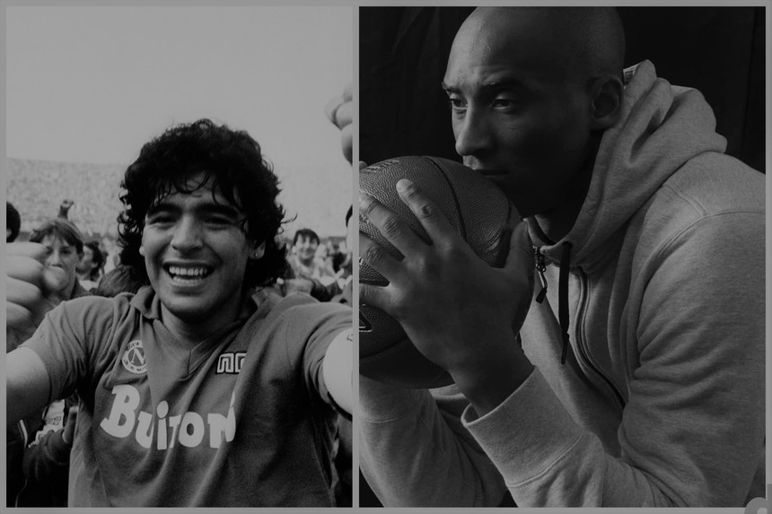 CRONOLOGIE: 2020, anul în care planeta a pierdut doi uriaşi: Diego Maradona şi Kobe Bryant