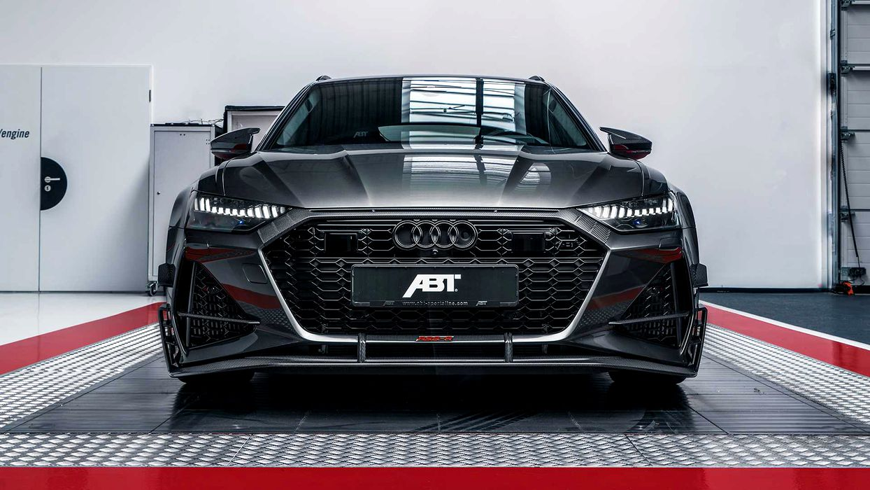 Casa de tuning ABT a pregătit un break absolut special: Audi RS6-R are 740 CP