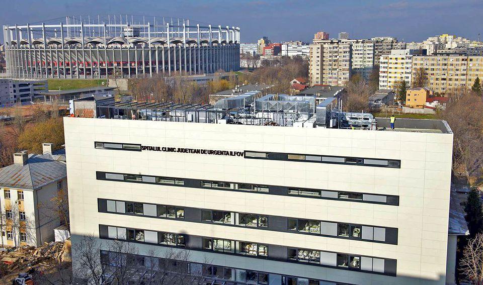 Descindere a poliției la Spitalul Judeţean de Urgenţă Ilfov, exact la secția de ginecologie, unde Libertatea a găsit medicul fals!